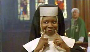 What was the name of Whoopi Goldberg's character in Sister Act?