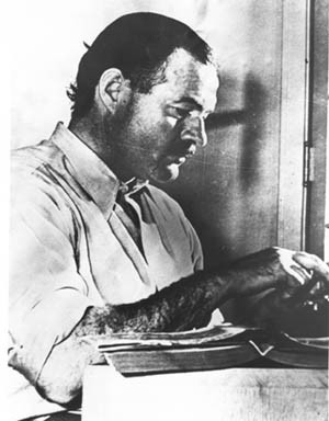 FAMOUS AUTHORS: Which of these novels was NOT written par Ernest Hemingway?