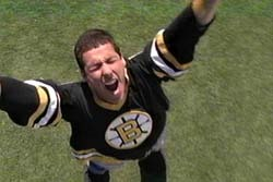 TAG, YOU'RE IT: Which of these tag lines was used to promote the film 'Happy Gilmore'?