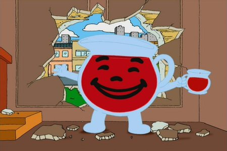Which of these episodes does NOT have an appearance por the Kool Aid Man?