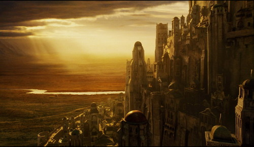 What was the first name of Minas Tirith