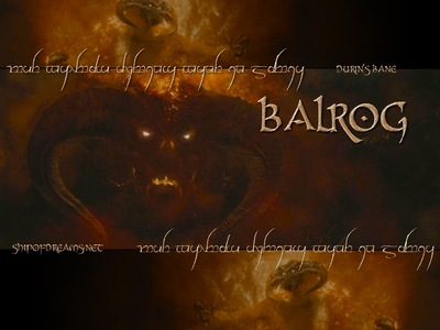 How the dwarves in Moria named the Balrog?