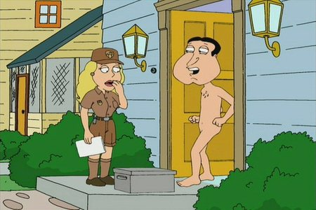 What kind of airbags does Quagmire have in his car?