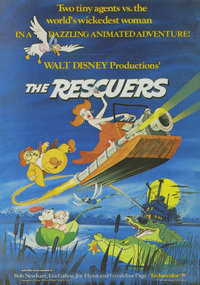 In 'The Rescuers,' what is the name of the society of mice who go around the world performing good deeds?