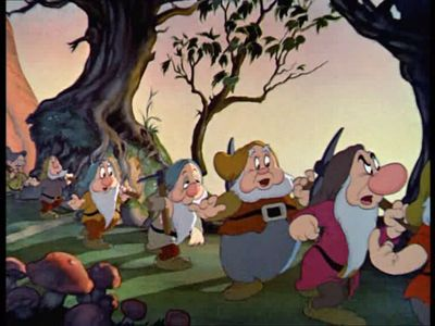 What kind of mine do the dwarfs from 'Snow White and Seven Dwarfs' work in?