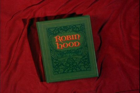 What kind of animal narrates the story of 'Robin Hood'?