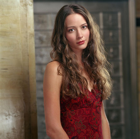 As of what episode does Amy Acker join the regular cast and opening credits?