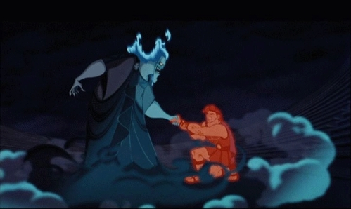 In Hercules, Hades promised not to harm Meg provided that Hercules give up his strength. How long did he have to agree to give up his strength for?