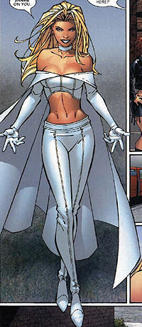 Where was Emma Frost born?