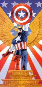 What is Captain America's real name?