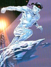 What is Iceman's middle name?