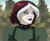 According to the comics, what is Rogue's real name?