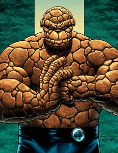 What street was Ben Grimm (the Thing) born on?