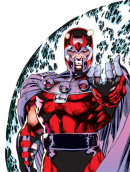 What is Erik Lehnsherr's (Magneto's) middle name?