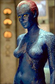 What was Raven DarkHolme's (Mystique's) middle name?