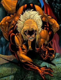 What is the name of Login's (Wolverine's) teammate that Victor Creed (Sabertooth) kills on Wolverine's birthday?