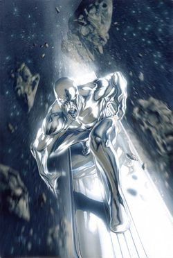Who created Norrin Radd (the Silver surfer)?