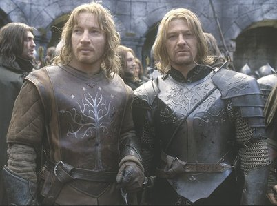 What is the age difference between Boromir and Faramir?