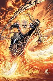 What were the names of Jonathan Blaze's (Ghost Rider's) parents?