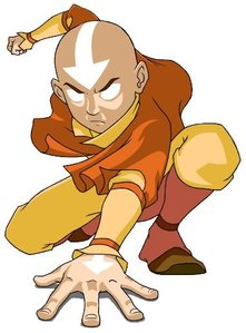 What is the name of the person that plays Aang?