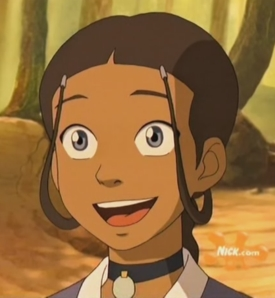 What is the name of the person that plays Katara?