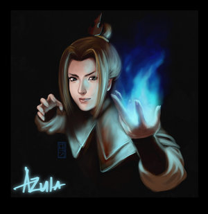 What is the name of the person that plays Azula?