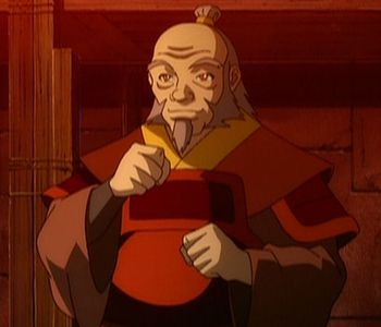What are the names of the people who played Iroh?