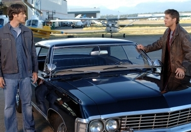 Dean had to change the Impala's plates to avoid the FBI. What was its new Ohio numbers?