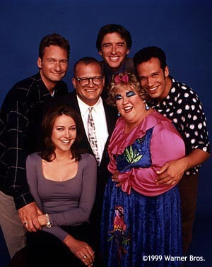 Christa was pregnant during a season of the Drew Carey Show was it Written into the Show or hidden?