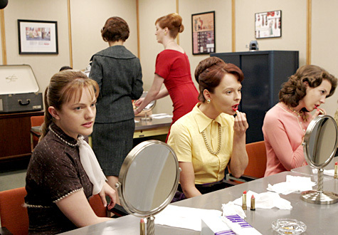 What does Peggy refer to the trashcan full of tissues with lipstick on them as?