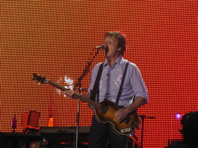 In the summer of 2008 Paul McCartney played a free show to commemorate the 400th birthday of which Canadian city?