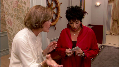 Lucille Bluth gave Lucille Austero tickets to which show?