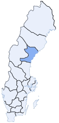 What's name of this Swedish county ?