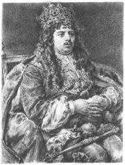 For how many years was Michał Korybut Wiśniwiecki king?