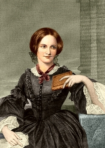 Who wrote the first published biography of Charlotte Brontë?