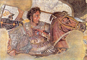 In this picture Which Persian King is Alexander the Great fighting?