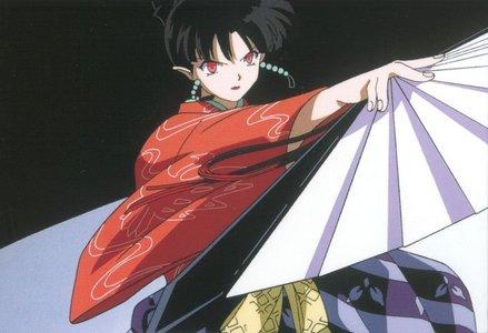 TRUE hoặc FALSE: Kagura finds Kouga attractive.