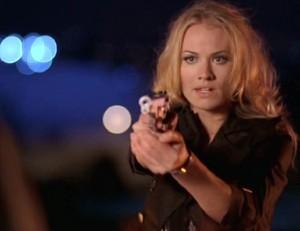 "What language does Sarah speak in ""Chuck versus the wookie""?"