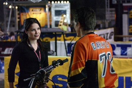 "what was the name of the character that sophia plays in the movie "" supercross""?"