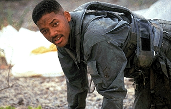 FINISH THE QUOTE: (From 'Independence Day') Steve: You gotta come down here with an attitude, acting all big and bad. I could've been at a barbecue!...