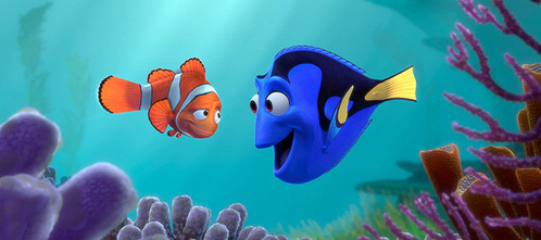 FINISH THE QUOTE: (From 'Finding Nemo') Dory: I suffer from short-term memory loss. It runs in my family...