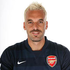 How many times has Almunia been sent on loan??