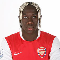 Sagna is currently number ___ in the current squad