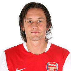Rosicky is number ___ in the current Arsenal squad