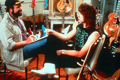 FINISH THE QUOTE: (From 'This Is Spinal Tap') Marty: This pretentious ponderous collection of religious rock psalms is enough to prompt the question...