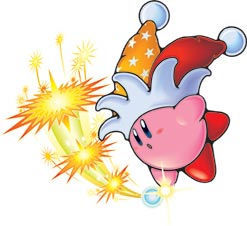 Kirby's Beam ability has appeared in how many games (as of 2008)?