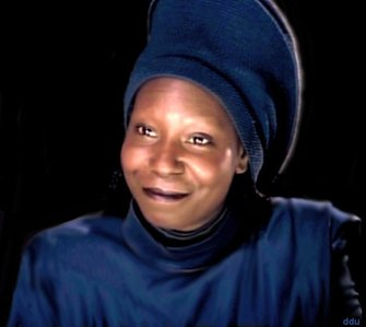 What was the name of the person Whoopi Goldberg played in the movie Star Trek?