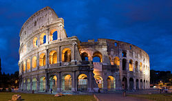 True or False: The Colosseum was originally the Flavian Amphitheatre?