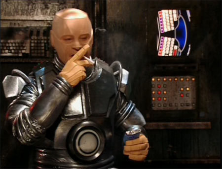 Lister gave Kryten a kit robot in 'Last Day'. Who was the robot supposed to resemble?