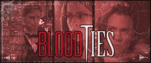 What channel did Blood Ties first-runs come one?